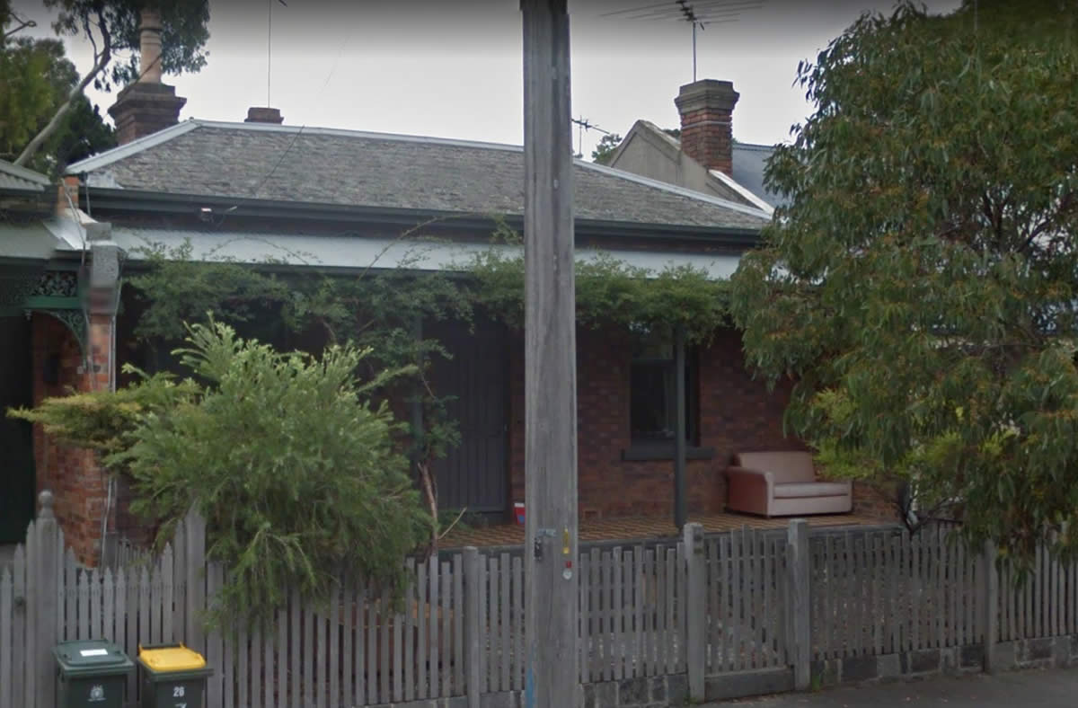 The Caine's House in Molesworth Street North Melbourne