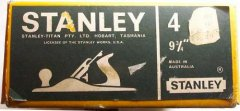 Box for Australian Stanley No. 4 with wooden handles