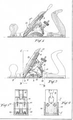 Watkinson Plane Adjustment Patent No. 3114-31 (year 1931)