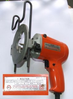 Black & Decker - (Drill) Router Type 5. No load speed 22,00 rpm - Black & Decker (A'Asia) P/L, Australia