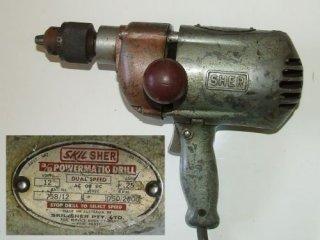 """Skill Sher 3/8"""" Dual Speed, 12 Volt Drill"""