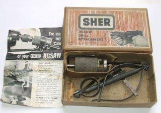 SHER Jigsaw Drill Attachment