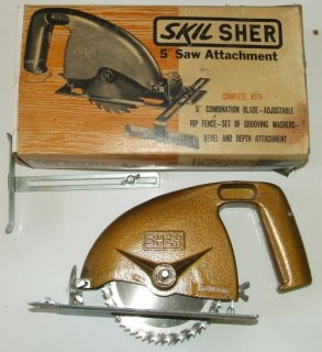 "Skil SHER 5"" saw attachment"
