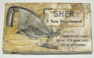 "SHER 5"" Saw Attachment"