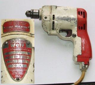 Wolf Safetymaster Drill