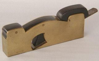 Preston Gun Metal Shoulder Rabbet Plane