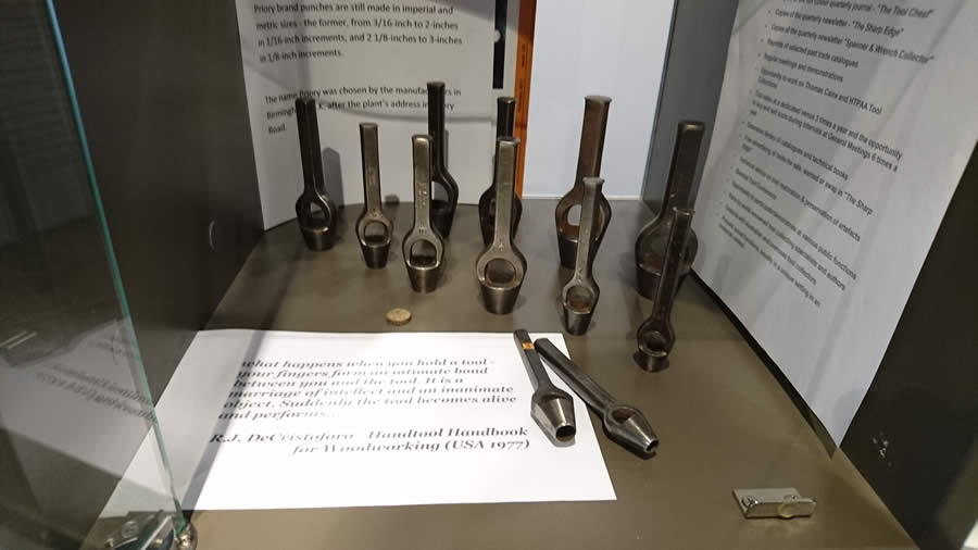 Nunawading Library display - wad punches