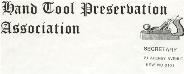 The first letterhead designed by Graeme Plaw