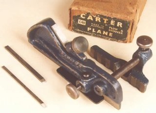 Carter C40 Plow & Groover and original box