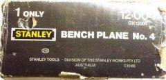 Box for Australian Stanley No. 4 (12-004) with black plastic handles