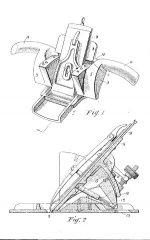 Watkinson Spokeshave Patent No. 3113-31 (year 1931)