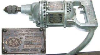 Black & Decker - Heavy Duty ¼ inch Electric Drill  (USA)