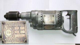 Black & Decker - Screw Driver & Socket Wrench - Black & Decker Ltd.  Slough, Bucks England