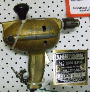"""Lightburn 5/16"""" high speed drill"""